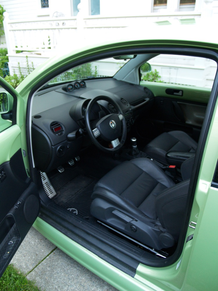 Belle verte cyber 2l turbo page 6 forum new beetle for Interieur new beetle
